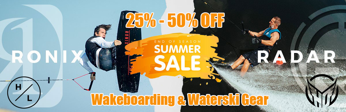 Waterski & wakeboard clearance sale