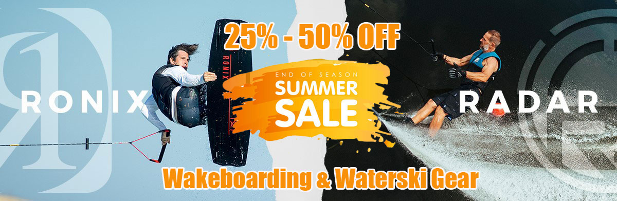 Waterski & Wakeboard Clearance Sale