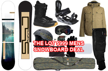 mens mega package deal
