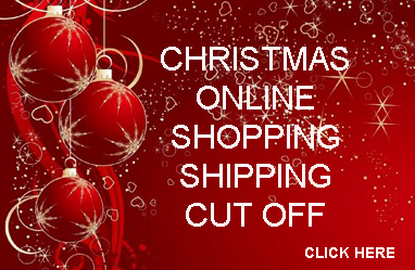 Christmas Shipping cut off