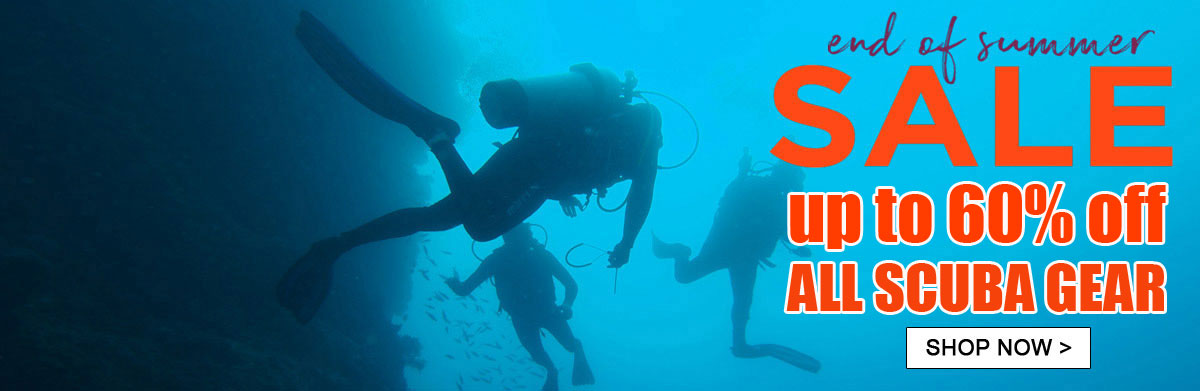 Clearance sale Scuba gear