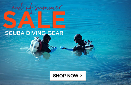 End of summer Scuba sale