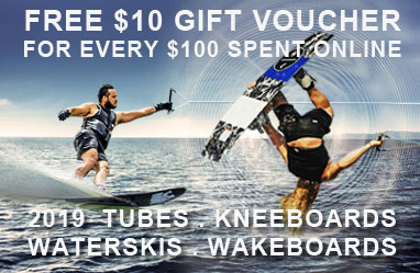 Free gift voucher offer waterski & wakeboards