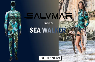Salvimar Sea Walker womens spearfishing wetsuit