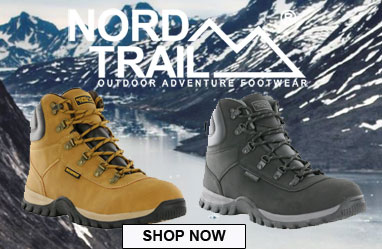 Nord Trail waterproof boots