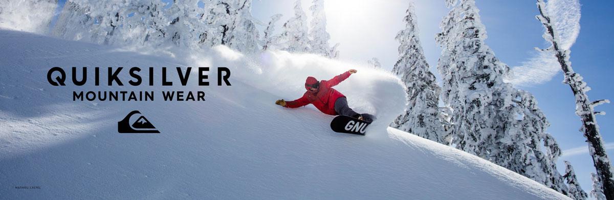 Quiksilver, Gnu, Libtech Snow gear