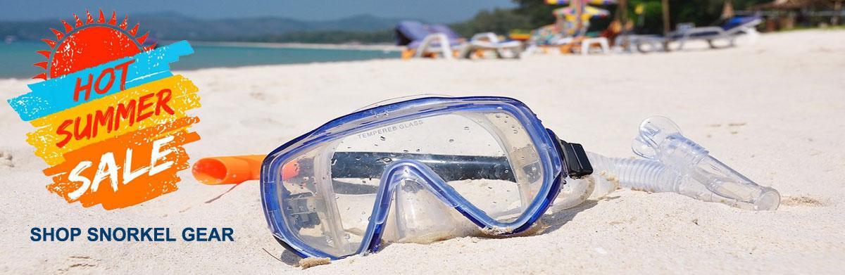 hot summer snorkeling sale