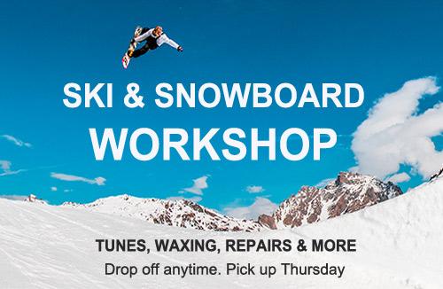Snowboard and ski service