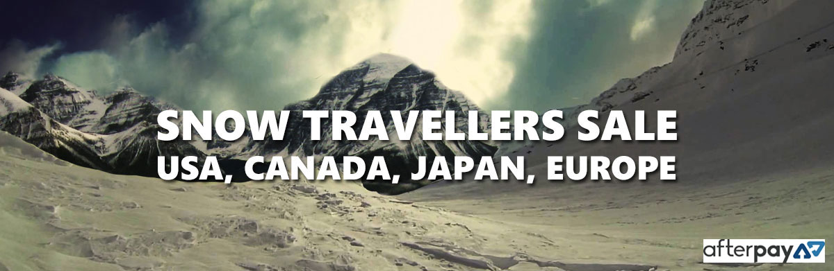 Snow Travellers sale USA, Canada, Europe, Japan