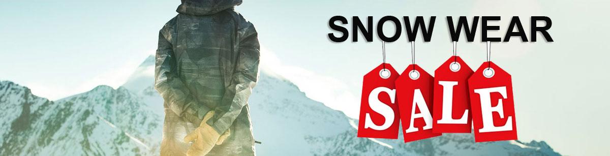 Snow wear sale