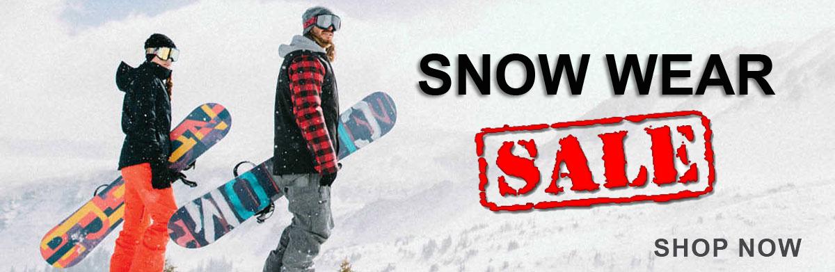 Snow gear sale
