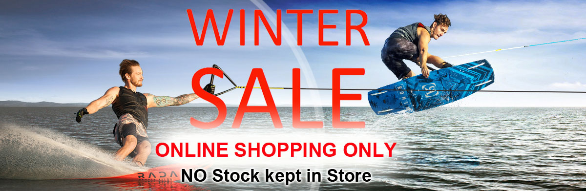 Winter Online only Waterski sale