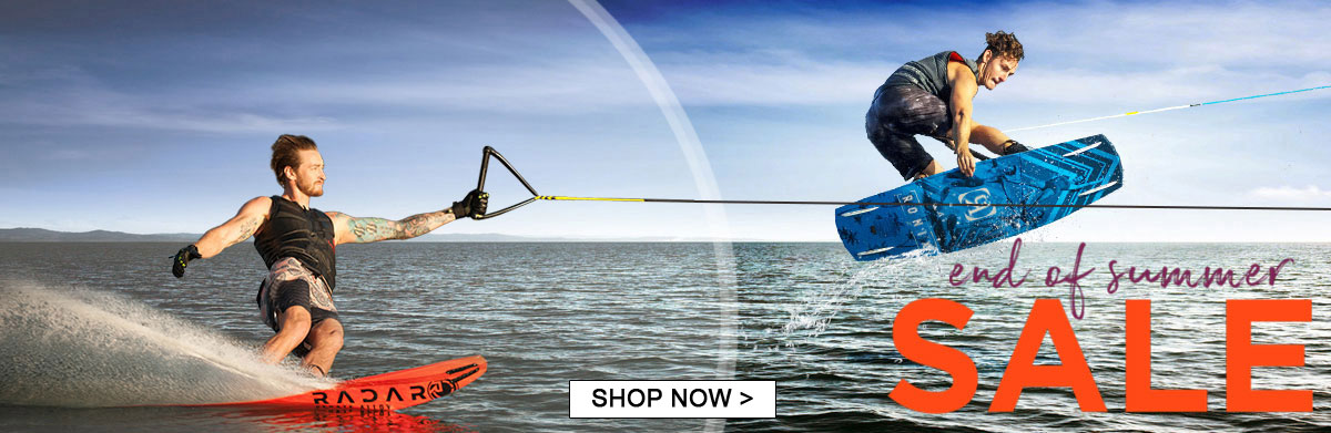 End of summer waterski wakeboard sale