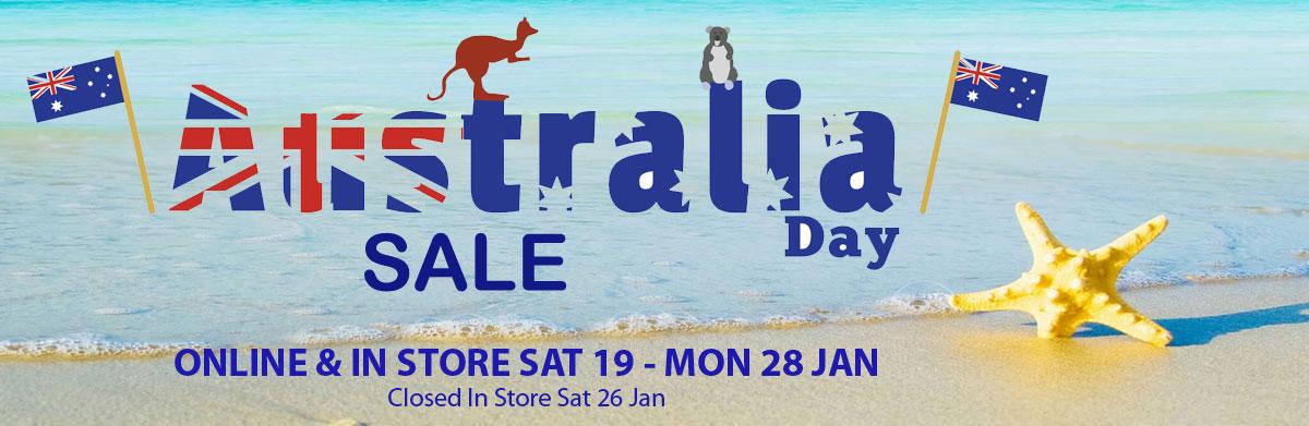 Australia day Scuba sale
