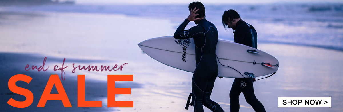 End of summer wetsuit sale
