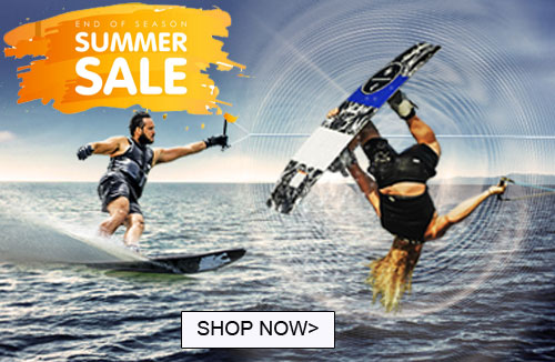 End of season waterski & wakeboard sale