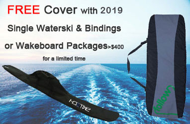 Free bag with wakeboard & waterski offer