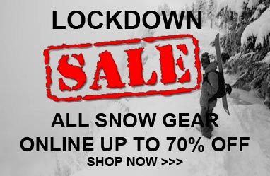 Lockdown snow sale up to 70% off