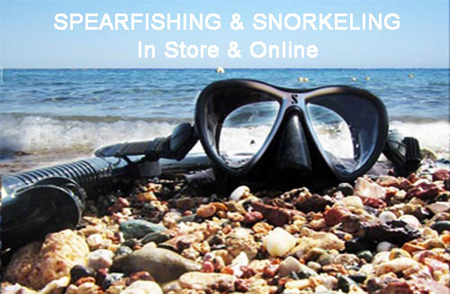 Shop Snorkel and Spearfishing