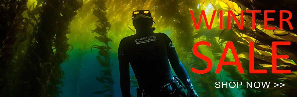 Winter spearfishing sale