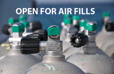 Scuba Tank air fills