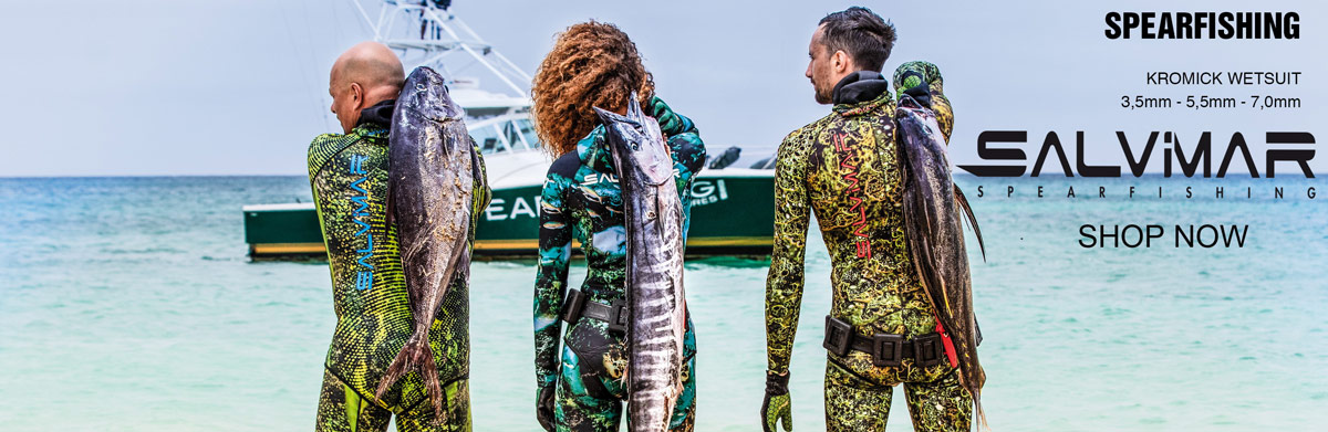 Salvimar spearfishing wetsuits