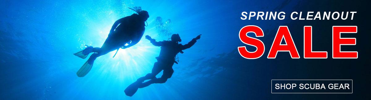 Lets Go Diving Spring Scuba Sale