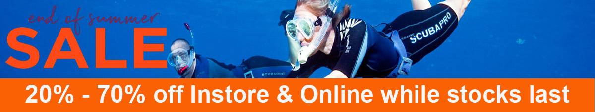 snorkel & spearfishing clearance
