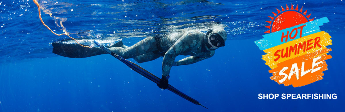 hot summer spearfishing sale