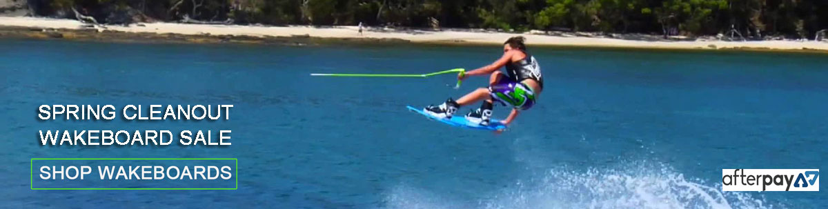 Spring cleanout wakeboard sale
