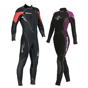 Wetsuits Diving