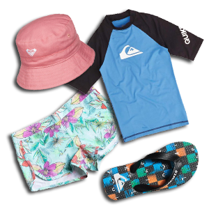 Kids Surf Wear & Access