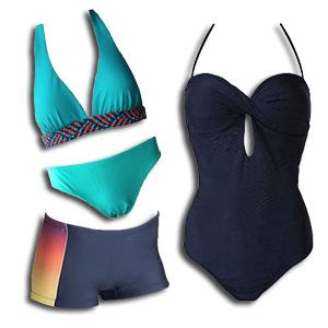Swimwear and Bikinis