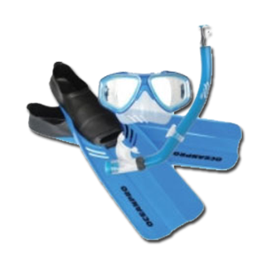Mask Snorkel Fins Packages