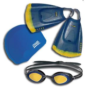 Swim Goggles, Fins & Access.