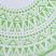Freeworld Round Towel Green