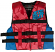 Jetpilot 2018 The Cause Kids Nylon Vest - Red L50