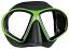 Mares Sealhouette Dive Mask - Black/Lime