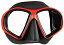 Mares Sealhouette Dive Mask - Black/Red