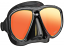 Tusa UM24 Powerview Mask - Black