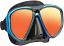 Tusa UM24 Powerview Mirrored Mask - Blue