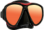Tusa UM24 Powerview Mirrored Mask - Red