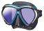 Tusa Paragon Mask - Black/Fishtail Blue