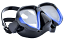 Apollo SV 2 Pro Dive Mask - Metallic Blue/Black