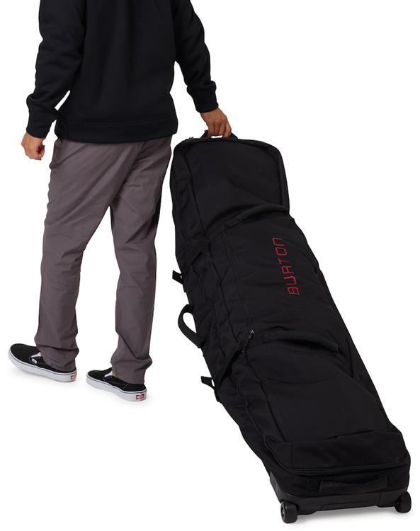 4b751d425c ... Burton 2019 Wheelie Locker Snowboard Bag - Black ...