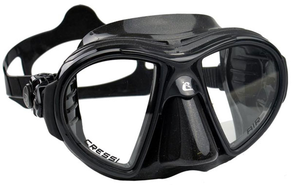 Cressi Air Mask Black/Black