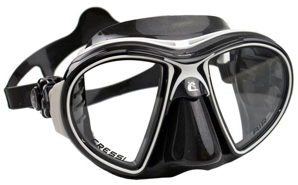Cressi Air Mask Black/White