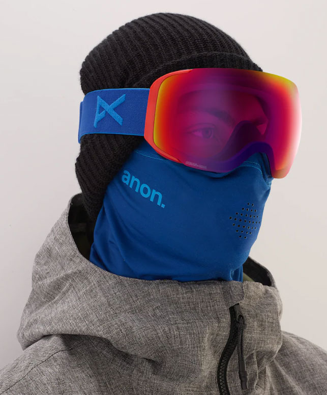 Anon 2019 M2 MFI Mens Snow Goggle - Blue/Infrared