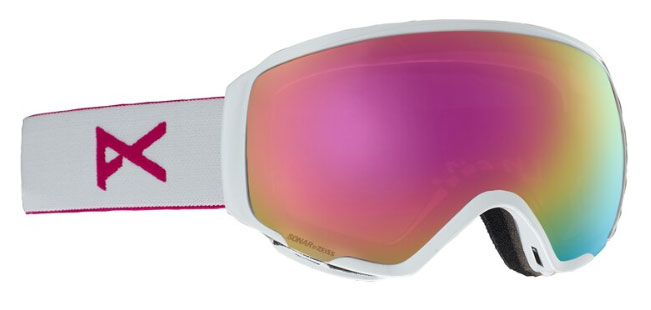 Anon WM1 2019 Womens Asian Fit Goggles - Pearl White