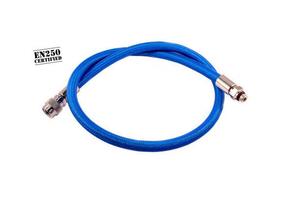 Diveflex Regulator Hose Braided 90cm 35in - Blue